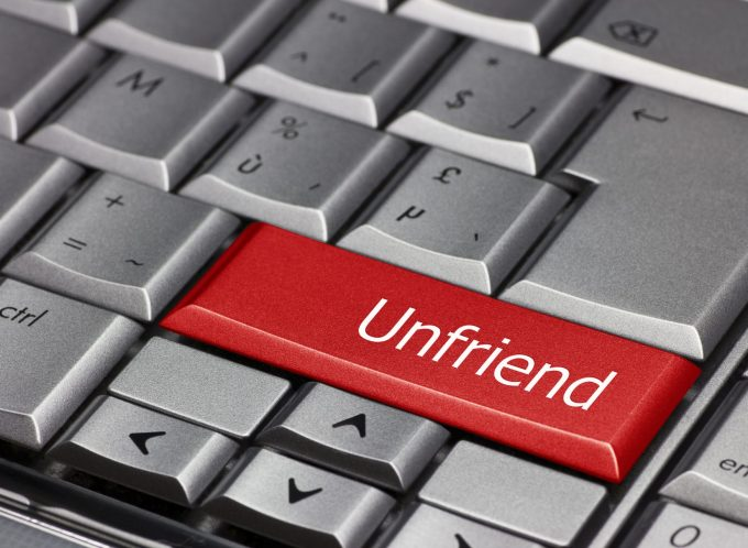 Facebook Unfriend Workplace Bullying