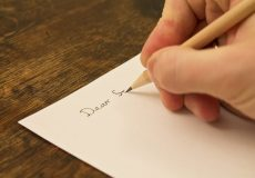 Hand writing a Will