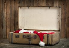 Holiday Travel Suitcase Will Estate Planning Christmas