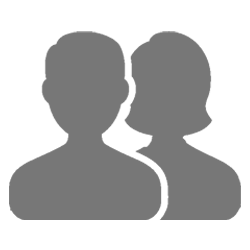couple silhouette icon